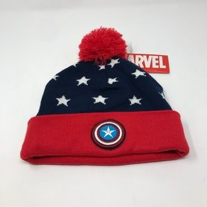 Marvel Captain America Beanie